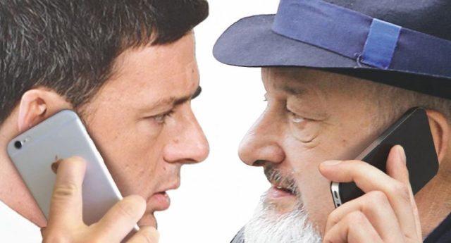 Lo sapevano anche i bambini che Tiziano Renzi era intercettato. E lui che fa? Geniale, gli telefona... È idiota davvero? No, pensa che lo siamo noi: SVEGLIA GENTE, È STATA TUTTA UNA FARSA!