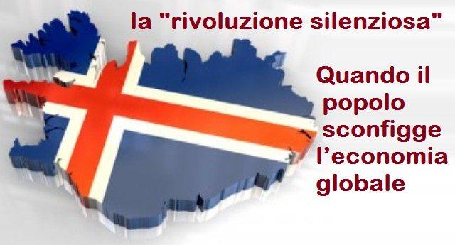 """ISLANDA: la """"rivoluzione silenziosa"""" - Quando il popolo sconfigge l'economia globale!"""