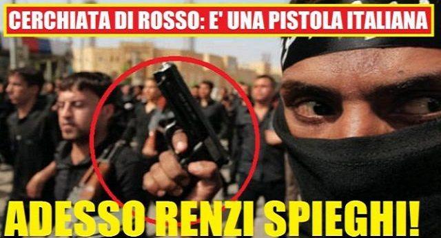Comunque Renzi un primato ce l'ha: Nei 1024 giorni di Palazzo Chigi, ha raggiunto un primato storico di cui però, stranamente, non parla: ha sestuplicato le esportazioni di armi. E chi se ne frega se la Gente si ammazza col Made in Italy...
