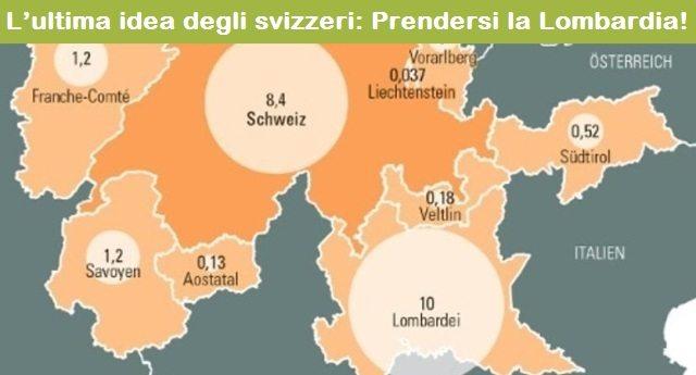 L'ultima idea degli svizzeri: Prendersi la Lombardia
