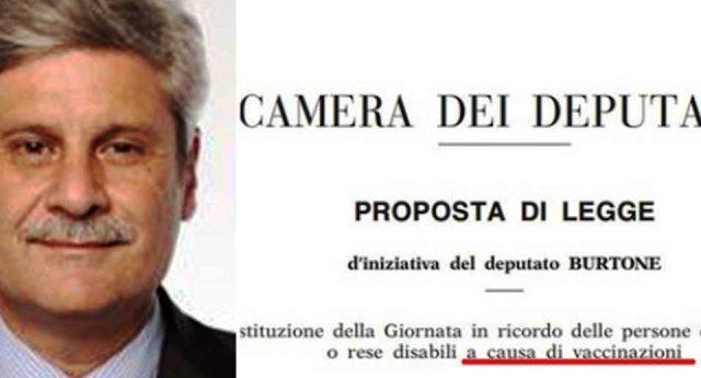 """Per Renzi, Lorenzin & C. i vaccini sono assolutamente sicuri. Chi afferma il contrario è un complottista! Dimenticano però di quando era il Pd a voler istituire una """"Giornata per le vittime dei vaccini"""" ...curioso, vero?"""