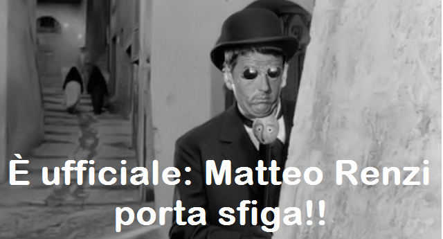 """Renzi: """"Dobbiamo vincere i mondiali in Russia nel 2018"""" ...E infatti. E se ancora credete che il buon Matteo non porti sfiga, leggete un po' questo. Resterete allibiti!"""