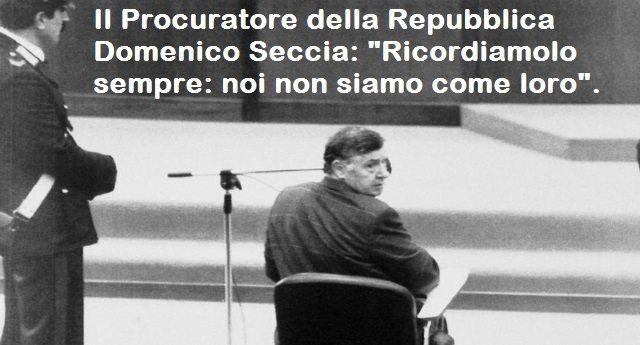 """Il Procuratore della Repubblica Domenico Seccia: """"Riina è morto, la Mafia no""""..."""