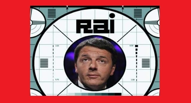 Matteo Renzi vuole finalmente abolire il canone Rai. Non come quel cretino che ce l'ha messo nella bolletta elettrica...