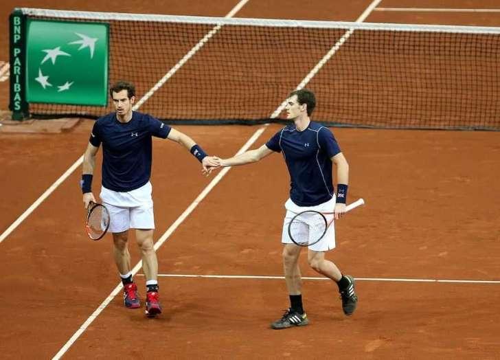 Finale Coppa Davis: la Gran Bretagna conduce 2-1 dopo la vittoria nel doppio