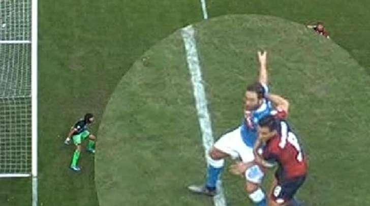 Serie A, la moviola: a Napoli e Atalanta manca un rigore