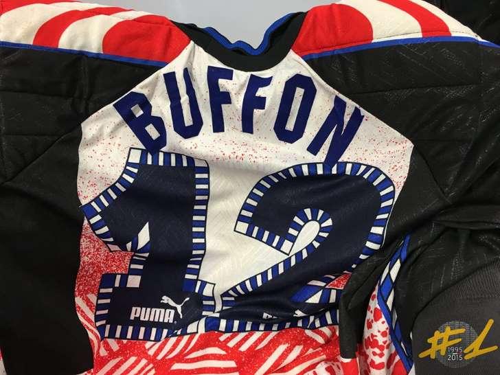 Buffon, 20 anni di Serie A