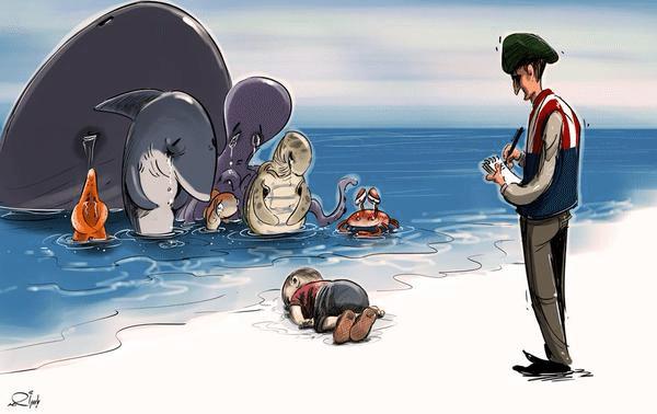 La storia di Aylan, il bimbo morto sulla spiaggia turca rifiutato dal Canada. Nel naufragio è morto anche il fratellino Galip, 5 anni (FOTO)