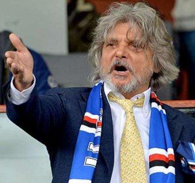 Massimo Ferrero non vendo la Sampdoria