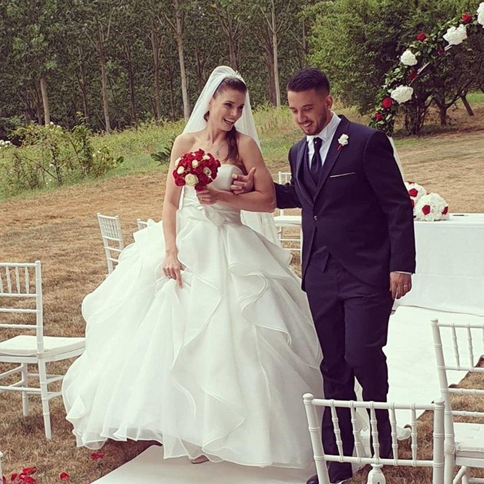 La calciatrice della Juventus Cecilia Salvai si è sposata