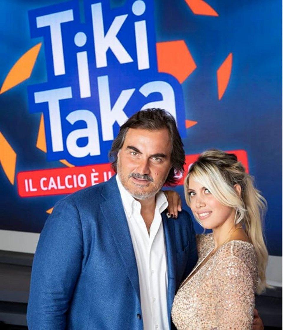 Torna Tiki Taka con Pardo ci saranno Wanda Nara Vieri e Cassano