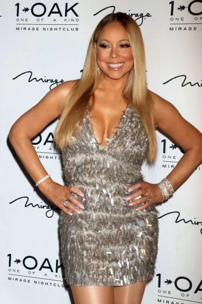 Mariah Carey curve hot ed esplosive a Las Vegas