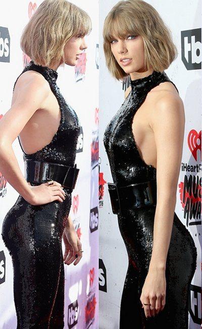 Taylor Swift lato b lievitato con YSL