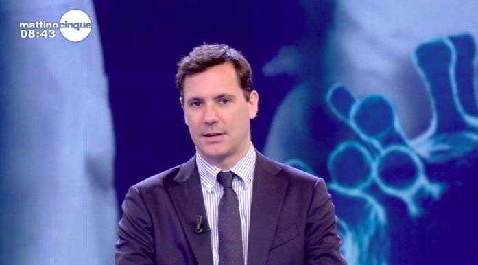"""Mattino 5, Francesco Vecchi è diventato papà: """"Sono emozionato, mi tremano le gambe�"""