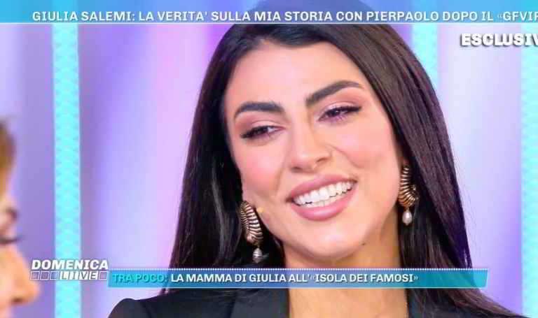 Giulia Salemi svela l'amore per Pierpaolo Pretelli