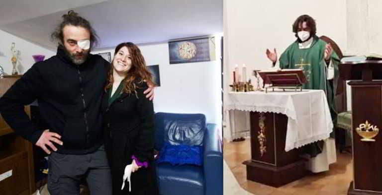 """Parla don Riccardo Ceccobelli, il parroco che lascia la tonaca per amore della 26enne Laura: """"È stato un segno di Dio�"""