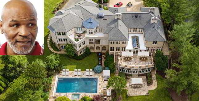 Mike Tyson, la mega villa dell'ex campione di boxe è in vendita: guarda che lusso…