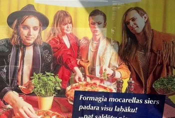 Maneskin: spuntano i loro sosia sulla pubblicità di una mozzarella