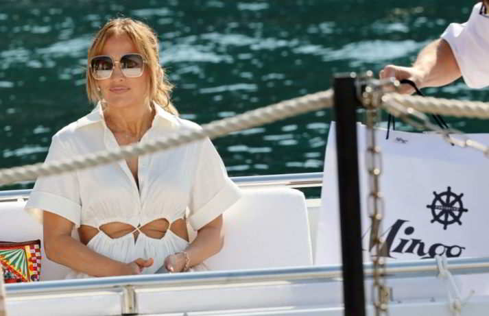 Jennifer Lopez, dopo Capri sbarca a Portofino senza Ben Affleck