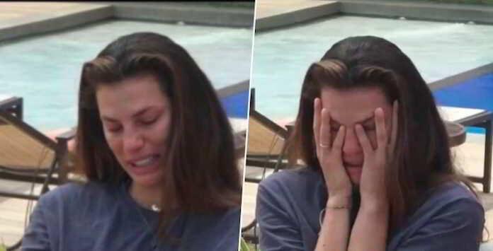 Dayane Mello scoppia in lacrime dopo le molestie subite a La Fazenda