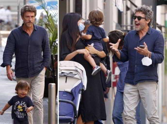 Alessio Boni super papà: con il figlio e la compagna incinta… si allena per il bis