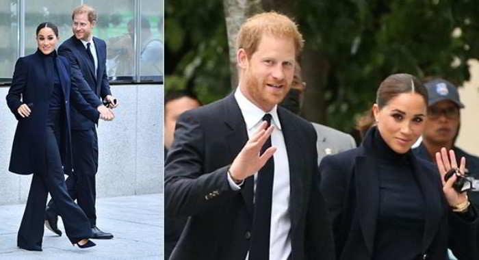 Harry d'Inghilterra e Meghan Markle, arrivo da divi a New York