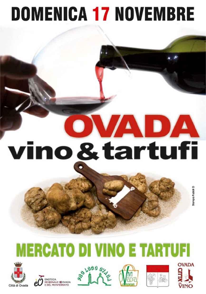 Ovada: Vino e Tartufi –domenica 17 novembre 2019 Ovada (AL)