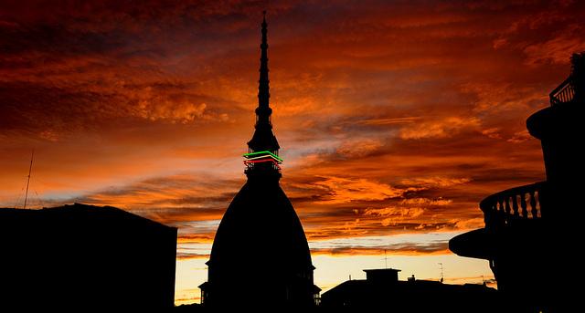Torino vista in Time Lapse (video)
