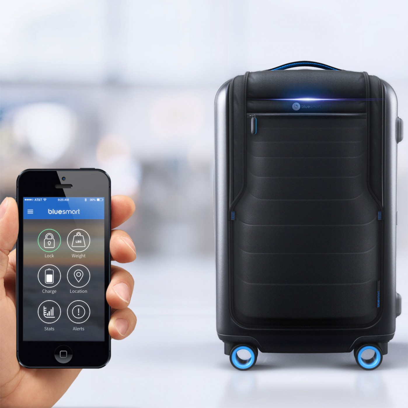 Bluesmart – valigia intelligente con GPS