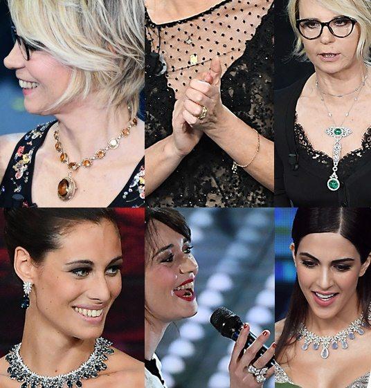Sanremo luxury: i gioielli visti all'Ariston