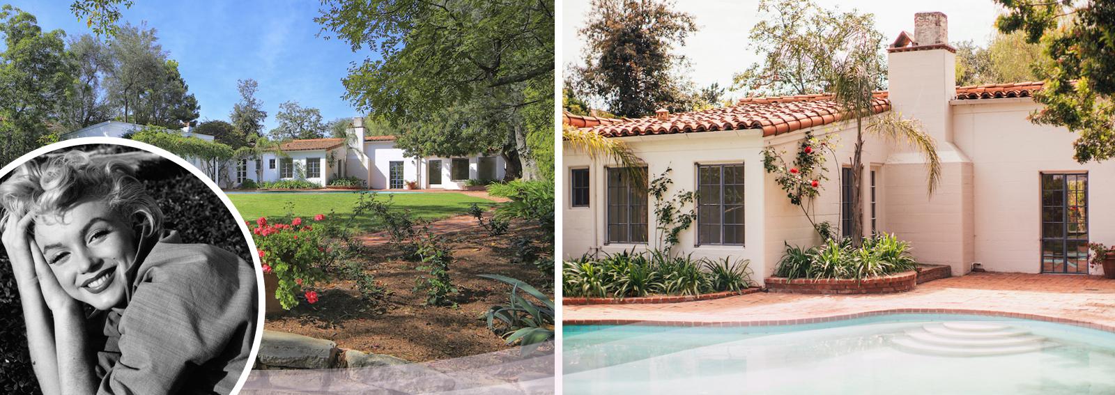 Marilyn Monroe, la casa dove morì finisce in vendita per 7 milioni