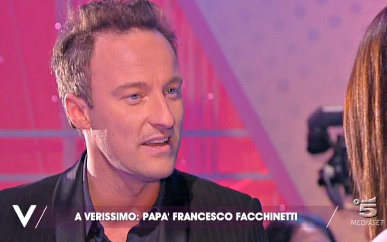 Francesco Facchinetti prende in giro Gianluca Vacchi con la Balivo
