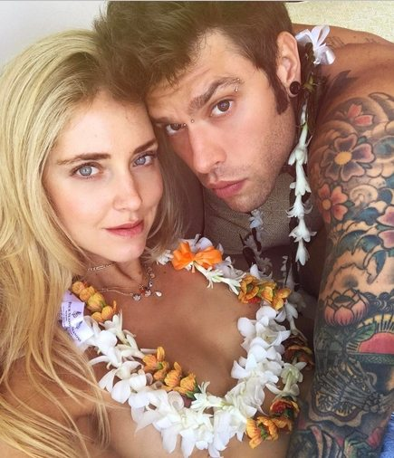 Fedez e Chiara Ferragni, luna di miele alla Hawaii dopo la proposta di matrimonio