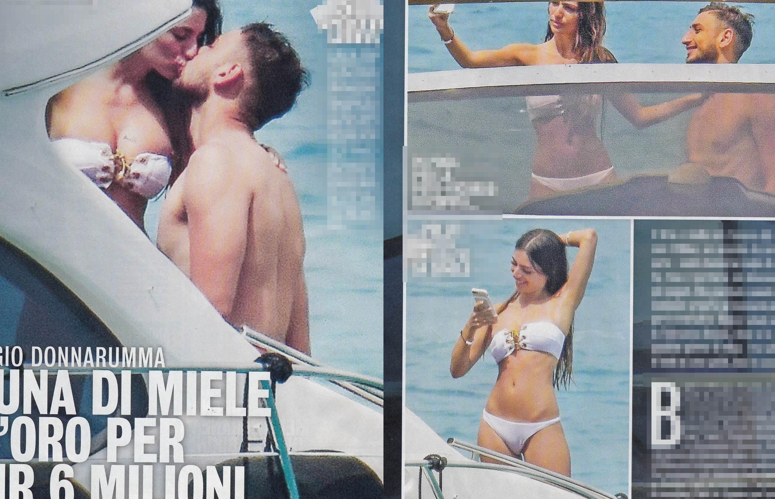 Gigi Donnarumma ecco la vacanza a Ibiza con Alessia