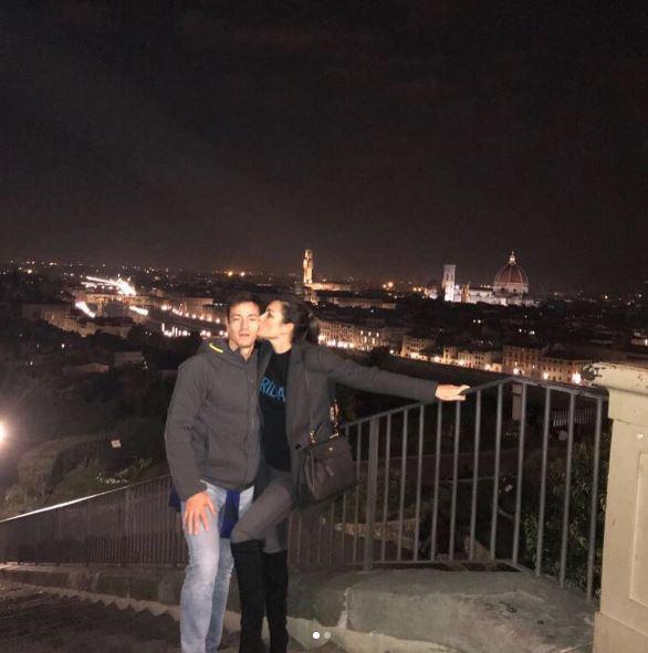 Alena Seredova, primo bacio social con Alessandro Nasi