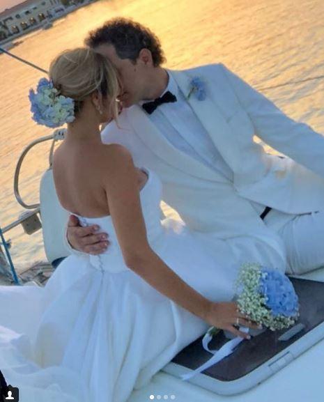 Francesca Barra e Claudio Santamaria, nozze bis in riva al mare