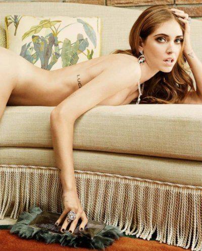 Chiara Ferragni tutta nuda su Vanity Fair