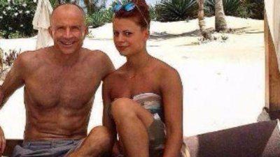 Giorgio Mastrota in vacanza insieme alla figlia Natalia
