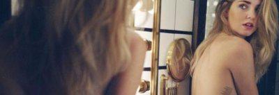Chiara Ferragni in topless su Instagram
