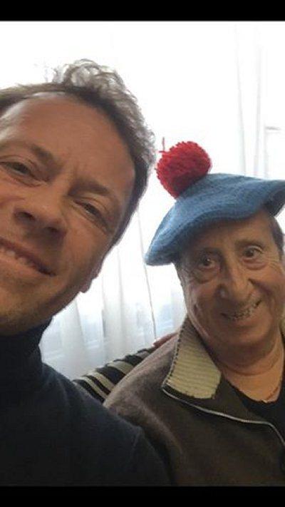 Alvaro Vitali un film a luci rosse per Rocco Siffredi