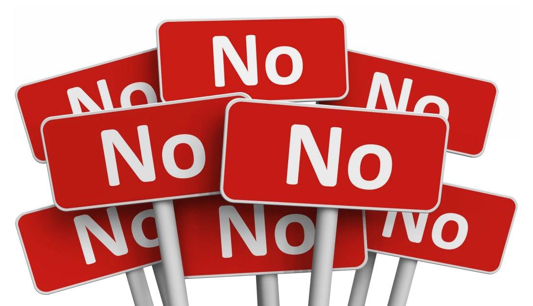 """IMPARIAMO A DIRE """"NO"""""""