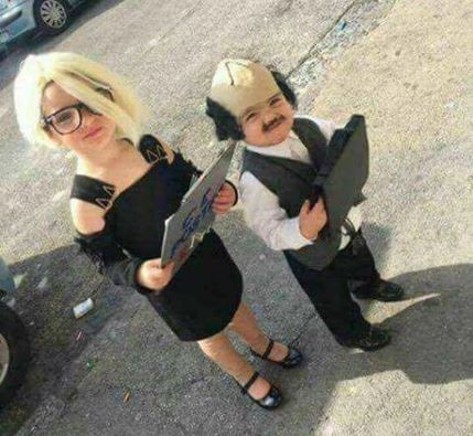 Carnevale a Napoli, i baby Maria De Filippi e Costanzo piacciono anche a Selvaggia