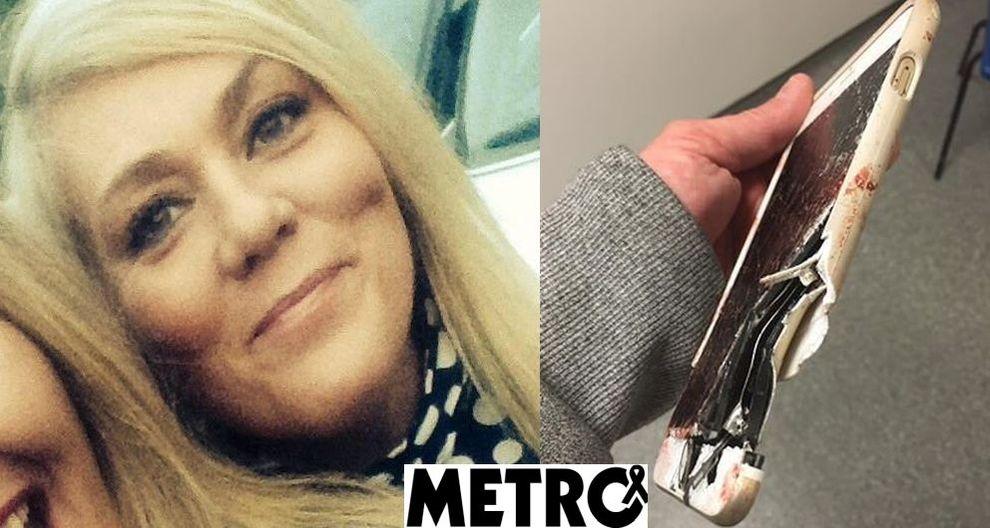 Mamma sopravvive all'attentato grazie al suo smartphone: