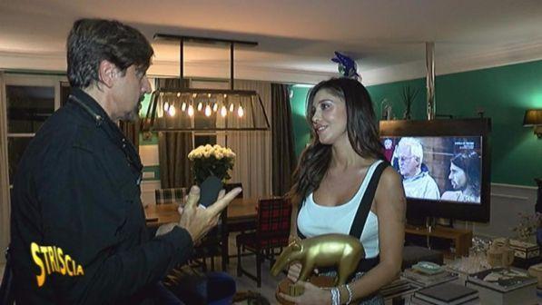 """""""Striscia la notizia"""", primo Tapiro d'oro della 30sima edizione a Belen Rodriguez"""