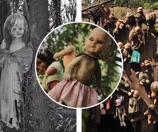 L'isola piena di bambole spaventose e infestata dagli spiriti: ecco il luogo più terrificante del mondo