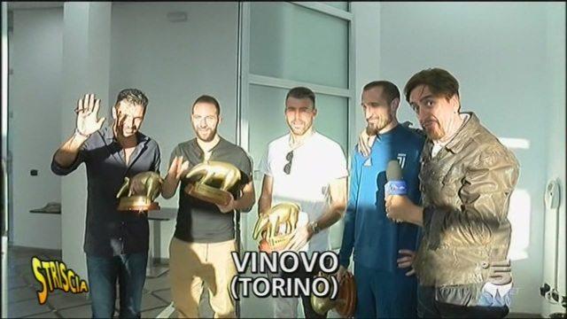 Striscia la Notizia consegna quattro tapiri beneauguranti alla Juventus