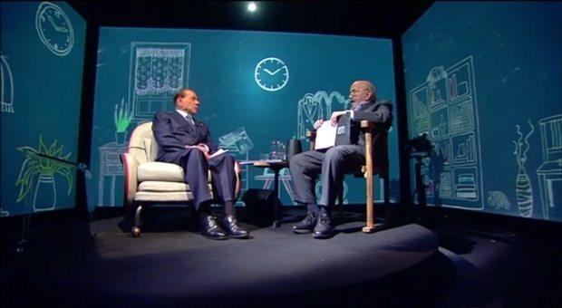 """Berlusconi a L'Intervista di Costanzo: """"Io e Putin..."""""""