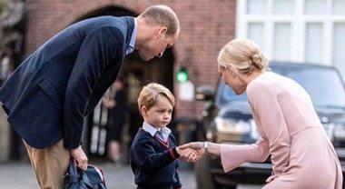 Baby George nel presepe vivente della scuola: ecco chi ha interpretato