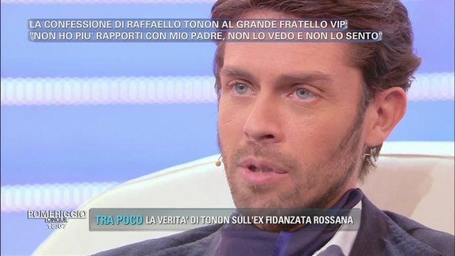"""Grande Fratello Vip, Raffaello Tonon svela: """"Mio padre? Per me è zero"""""""