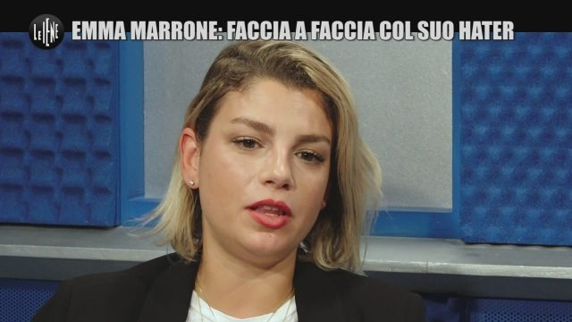 """Emma Marrone incontra il suo hater: """"Piacere, sono la cagna"""""""